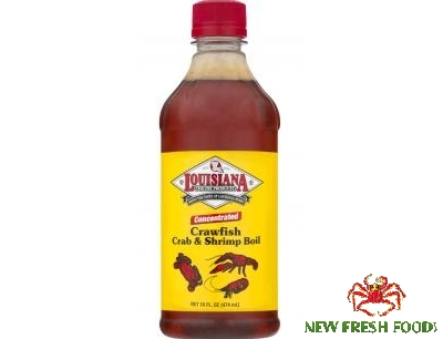 Gia Vị Louisiana Crawfish Shrimp & Crab Boil (474Ml)