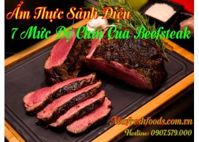 Ẩm Thực Sành Điệu – 7 Mức Độ Chín Của Beefsteak
