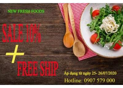 Săn Sale Cuối Tuần Cùng New Fresh Foods