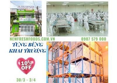 New Fresh Foods Mừng Khai Trương Chi Nhánh Và Kho Mới